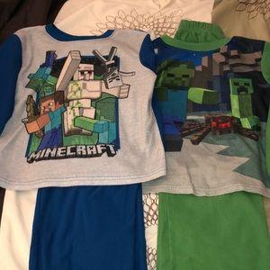 Minecraft Fleece Pajamas